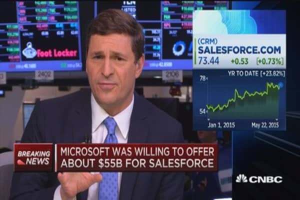 Microsoft-Salesforce held significant talks: Sources
