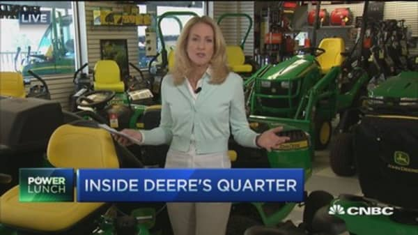 Deere challenged by stronger dollar