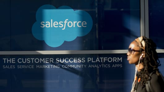 Salesforce.com, inc. (CRM) Position Lifted by Rhumbline Advisers