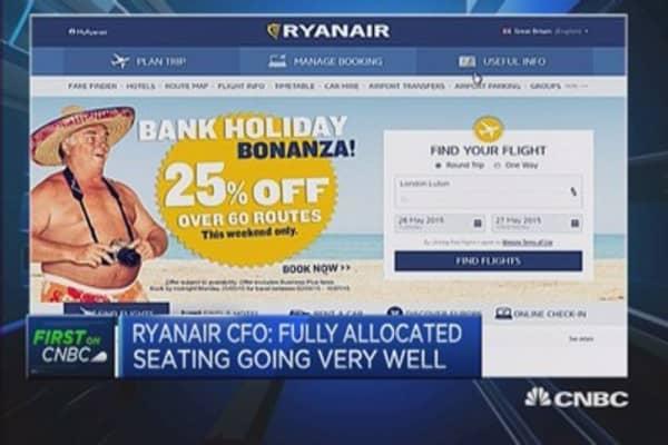 'Good banter': Ryanair CFO on Twitter battle