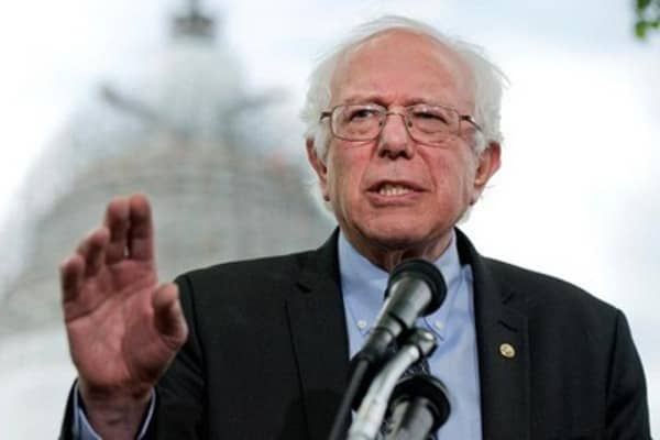 Bernie Sanders questions morality of US economy