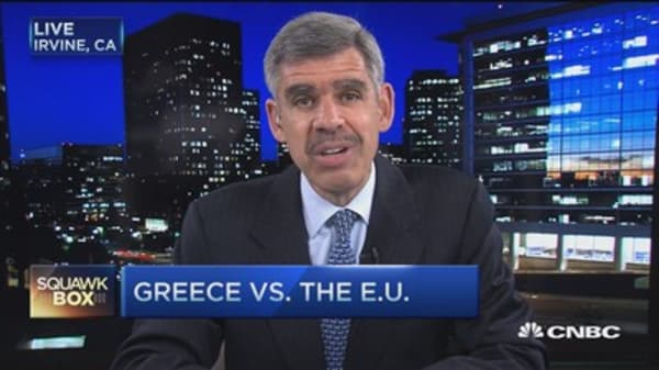Can't muddle through forever on Greece: El-Erian
