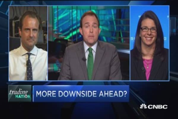 Trading Nation: More downside ahead?