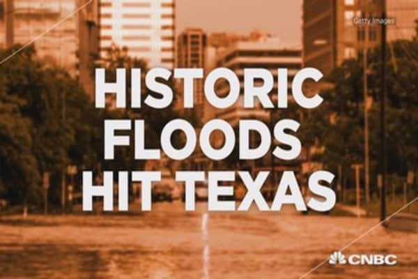 Texas hit with historic floods