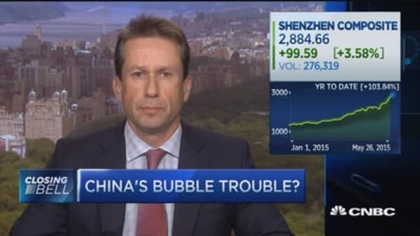 China's bubble trouble?