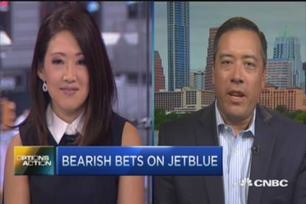 Options Action: More pain for JetBlue?