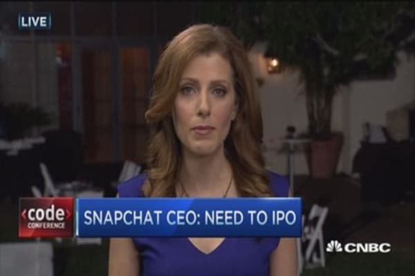Snapchat CEO blames Fed for bubble