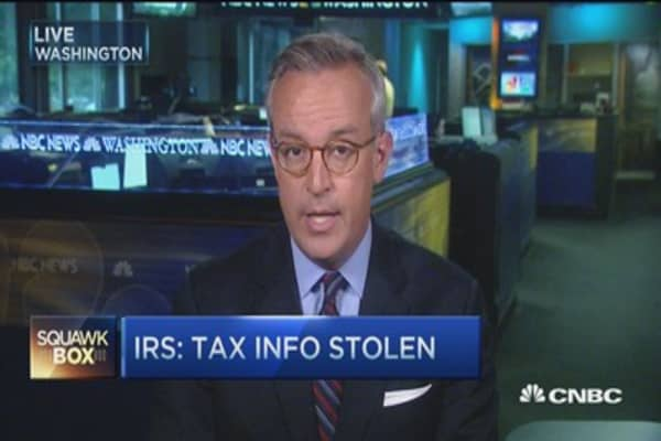 Hackers hit IRS