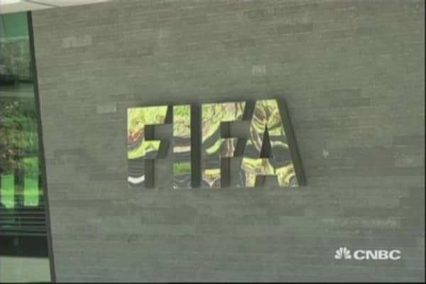 FIFA officials arrested