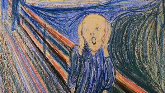 'The Scream' by Edvard Munch.