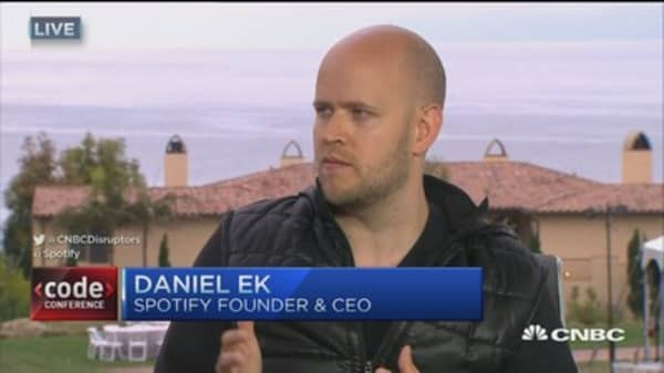 Spotify CEO: Constantly experimenting, staying ahead