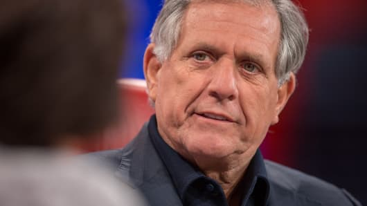 Les Moonves at the 2015 Code Conference.
