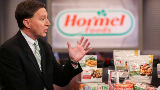 Jeffrey Ettinger, chairman of Hormel Foods.