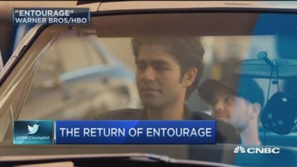 'Entourage' jumps from small screen to big screen