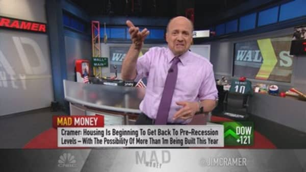 Cramer takes a look at the housing landscape