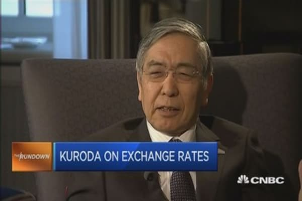 BOJ Kuroda: Why the yen isn't too weak