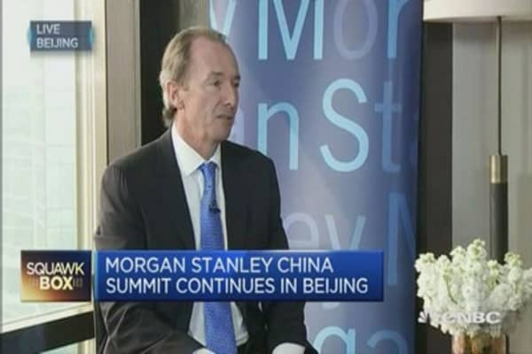 Morgan Stanley's Gorman weighs in on CEO pay package