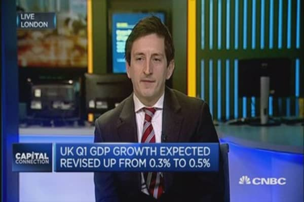 UK economy remains in 'pretty good fettle': EY