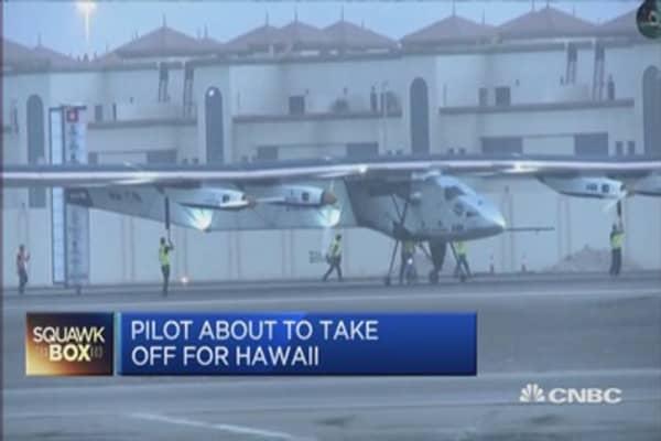 Record-breaking solar-powered flight delayed