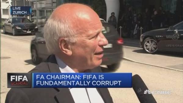 FIFA's Blatter has to go: FA Chairman