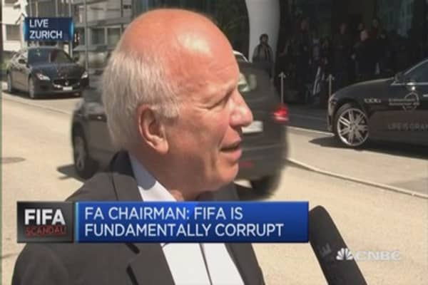 FIFA's Blatter has to go: FA Chairman