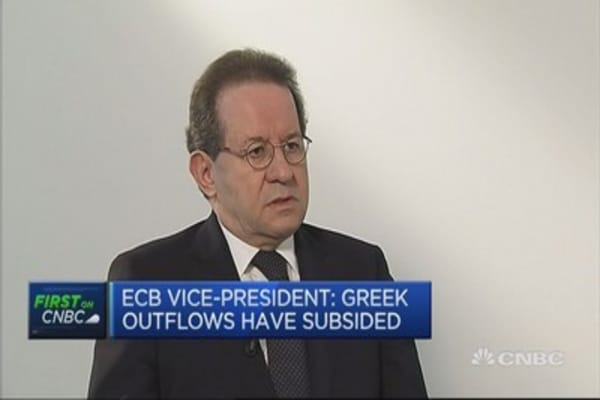 Expect 'turbulence' if no Greek deal: ECB