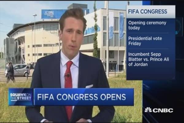 FIFA Congress opens amid controversy