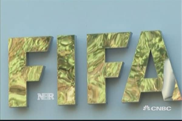 FIFA bribery charges