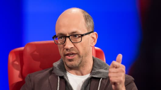 Twitter CEO Dick Costolo at 2015 Code Conference.