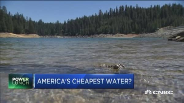 America's cheapest water?