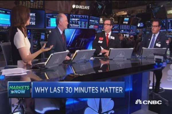 Last 30 minutes of trading matter most: Report