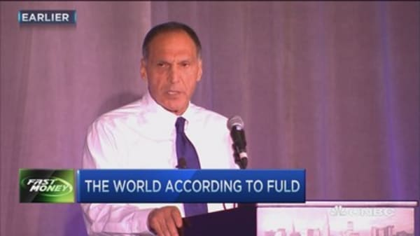 What Dick Fuld didn't say ...