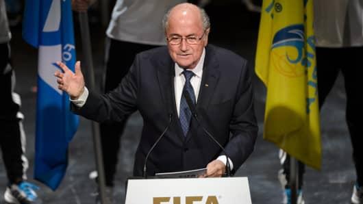 FIFA President Sepp Blatter.