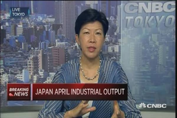 Japan factory output improving gradually: Pro