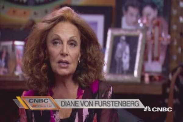 CNBC Meets: Diane von Furstenberg Part 1