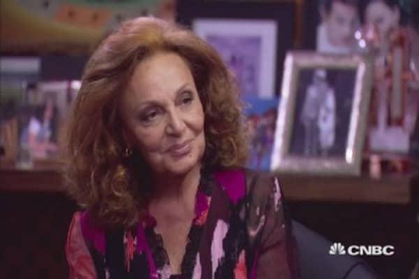 CNBC Meets:  Diane von Furstenberg Part 2