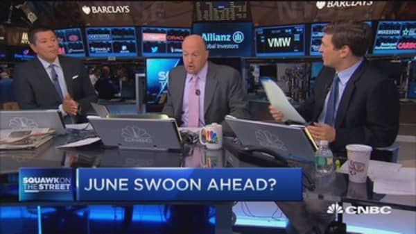 Cramer on June swoon