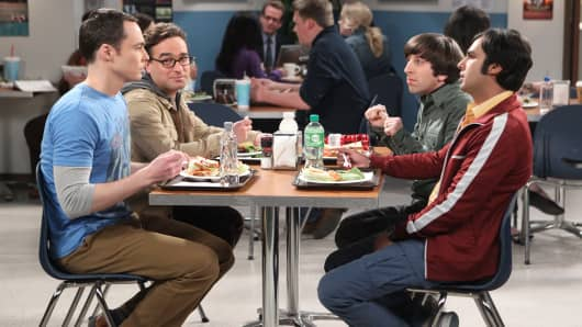 The TV series and The Chuck Lorre Family Foundation, along with nearly 50 Big Bang stars, producers and crew members, have established The Big Bang Theory Scholarship Endowment, which will provide financial aid to undergraduates in the fields of science, technology, engineering and mathematics (STEM) at UCLA.