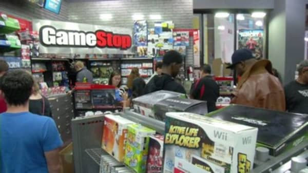 GameStop levels up