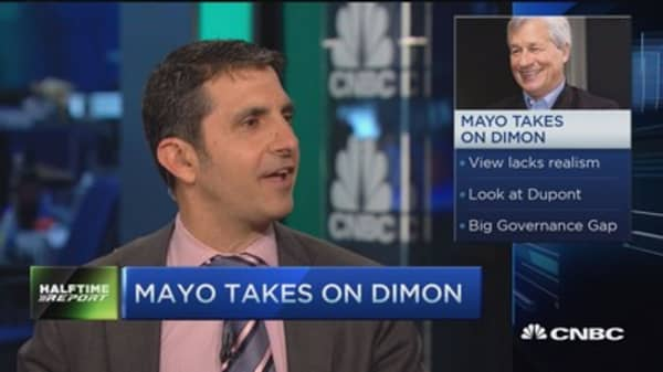 Mike Mayo: Ludicrous comments by Jamie Dimon