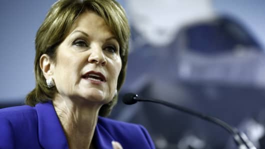 Marillyn Hewson, chairman, president and chief executive officer of Lockheed Martin Corp.