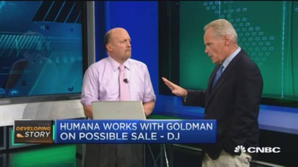 Humana works with Goldman on possible sale: DJ
