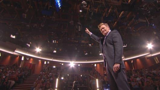 Stay the night in Conan O'Brien's TV Studio through Airbnb.