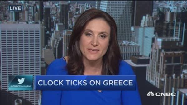 Clock ticks on Greece