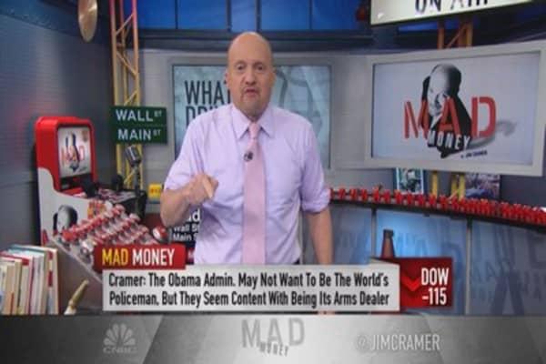 Cramer: What's driving defense?