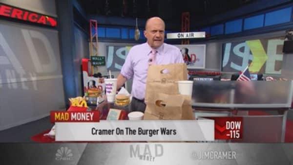 Burger war maneuvers