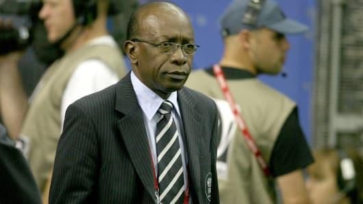 Former vice president of FIFA, Jack Warner.