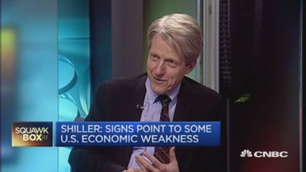 'New normal' boom driven by anxiety: Shiller
