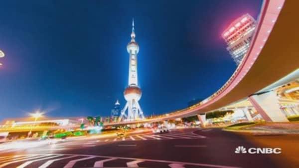 Shanghai's volatile market