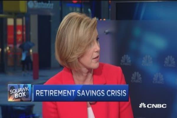 America's retirement crisis, a woman's crisis